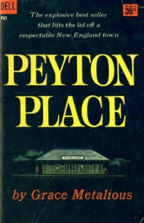 peyton place frisbee a book journal peyton place