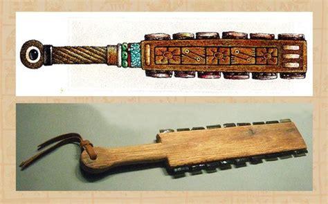 imagenes de herramientas aztecas 10 armas raras y mortales del mundo antiguo marcianos