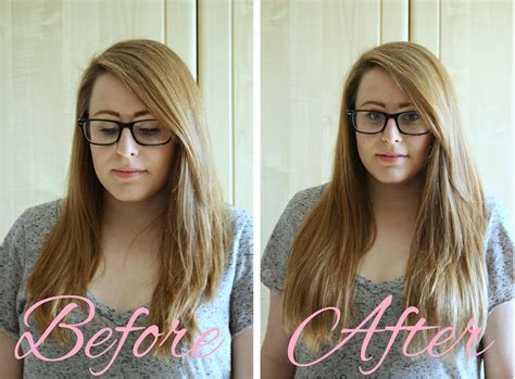 the shocking hair extensions before and after you have to short hair with clip in extensions before and after