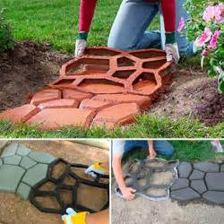 patio stepping stones cement driveway paving pavement mold patio concrete stepping