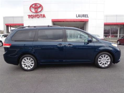 how to fix cars 2012 toyota sienna navigation system sell used certified 2012 sienna limited awd dual sunroof navigation 1 owner carfax video in