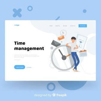 Business People Vectors Photos And Psd Files Free Download Recruitment Landing Page Template