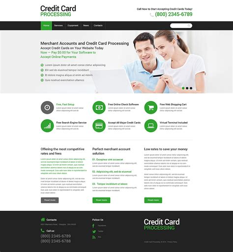 banking templates for a website bank responsive website template 48619