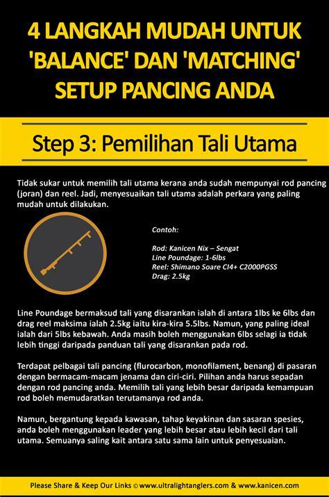 Pancing Untuk 4 langkah mudah untuk balance dan matching setup