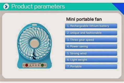 Kipas Angin Mini Cas jual 3 mode kipas angin mini portable fan baterai charge