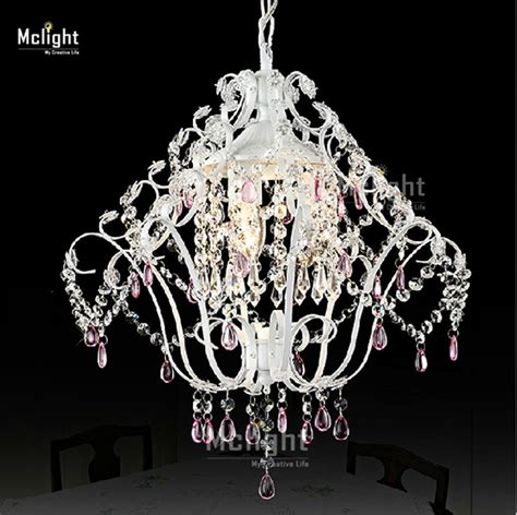 Purple Mini Chandelier Mini Princess Vintage Chandelier Light Fitting Wrought Iron Purple Small