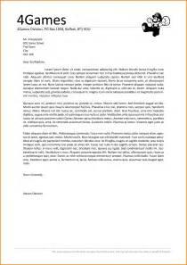 Cover Letter Headings by 9 Header Of Cover Letter Warehouse Clerk