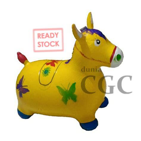 Mainan Dari Karet By Ghani jual mainan kuda kudaan tunggang karet dengan bunyi