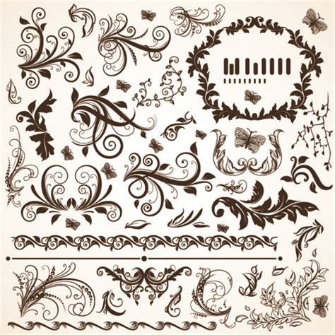 vector pattern free commercial use vector floral arabic ornament free vector download 15 531