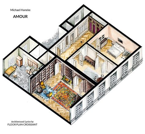 house design tv programs watercolor floorplans of famous tv shows and films offer