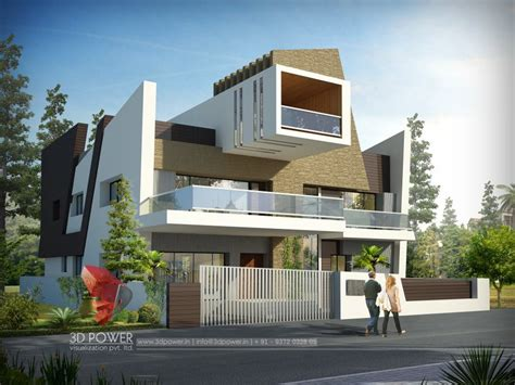 my first house design front view by anime freak95 on 3d ultra modern bungalow exterior day rendering and