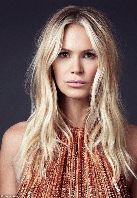 age for icy blonde hair elle macpherson reveals her secrets to remaining the body