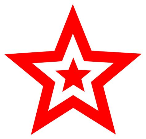 the art of star white star clip art cliparts co