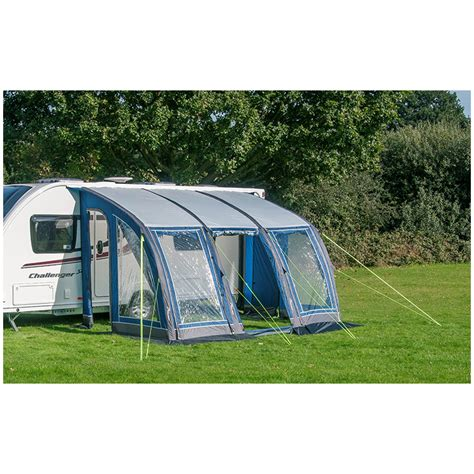 inflatable cervan awning sunnc curve 390 air caravan porch inflatable awning ebay