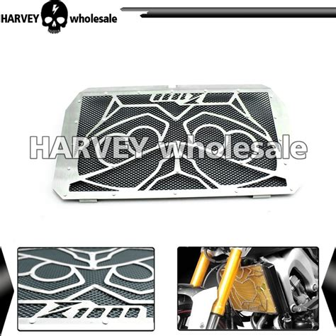 radiator grille guard cover protector for kawasaki z1000 motorcycle cooler radiator grille guard