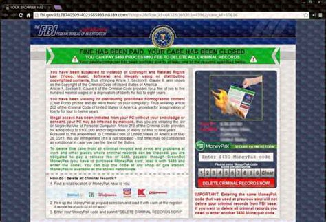 remove fbi cybercrime division virus 300 scam step by step remove fbi cybercrime division virus 300 scam step by step