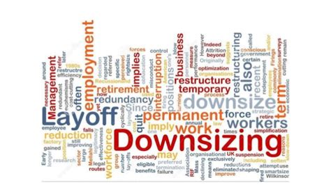down sizing outsourcing core computency downsizing