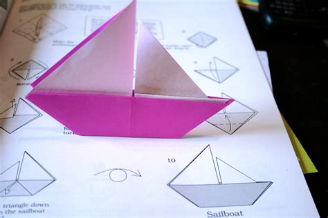 origami boat that sails origami boat flickr photo sharing