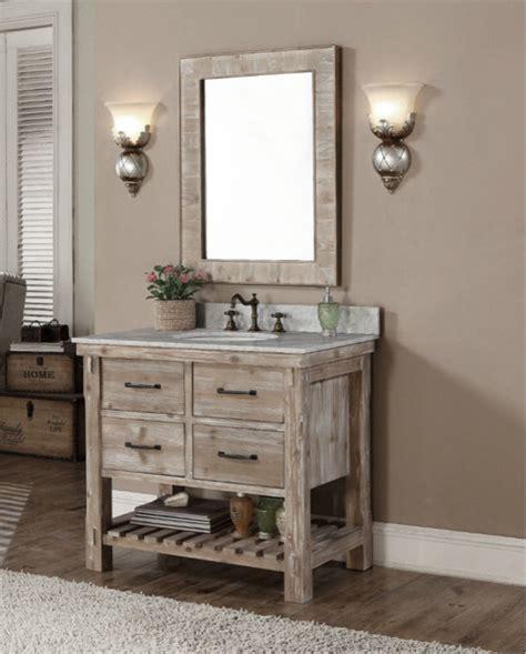 Farmhouse Bathroom Vanity by Accos 36 Inch Rustic Bathroom Vanity Quartz White Marble Top Farmhouse Bathroom Vanities And