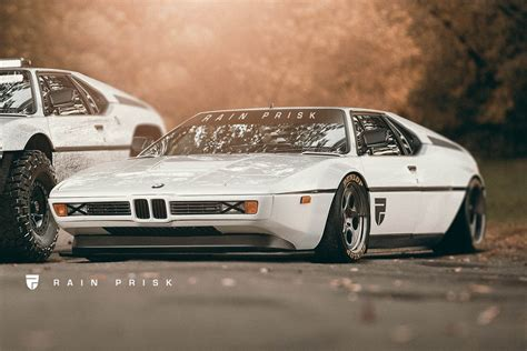bmw slammed jacked or slammed how do you like your bmw m1 carscoops