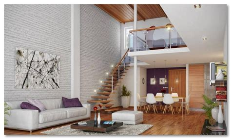 desain lantai   mirip  balkon   ruangan desain rumah unik