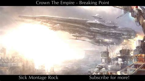 crown the empire breaking point crown the empire breaking point sick montage rock