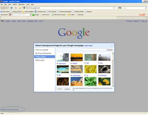 background themes for google homepage customize your google homepage background homemade ftempo