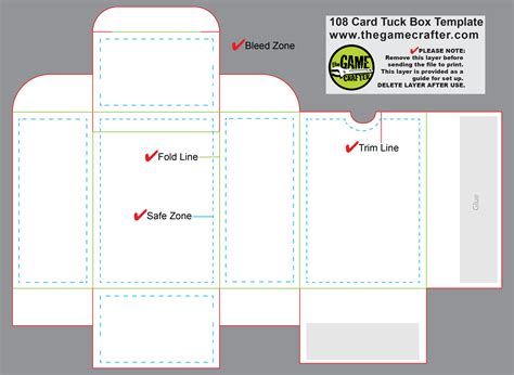 playing card box template ai managersave