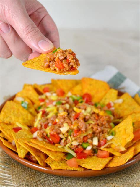 recetas de cocina con carnes nachos con carne receta f 225 cil de cocina mexicana