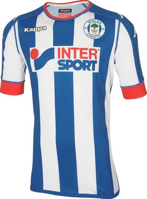 home kit wigan athletic 16 17 home away and third kits released