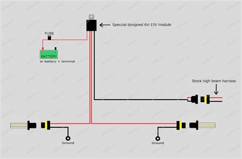i beam led light wiring diagram get free image about