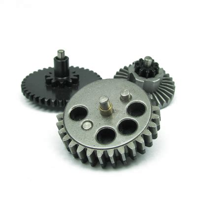 King Arms High Torque Helical Steel Gear Set For V2v3 Aeg king arms