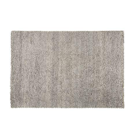 teppich grau baumwolle teppich aus wolle und baumwolle grau 140x200cm
