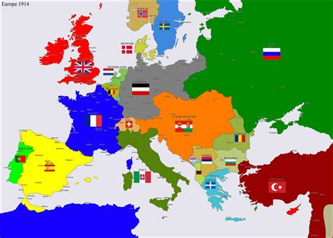 european map 1914 europe 1914 by hillfighter on deviantart