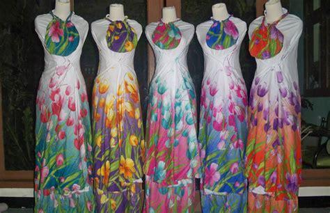 Gamis Katun Lokal Rumahan pengrajin mukena bali bisnis baju murah surabaya
