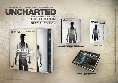 Uncharted The Nathan Collection R All Ps4 Ori uncharted the nathan collection special edition