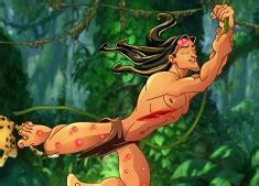 tarzan the jungle man swinging from a rubber band tarzan jungle of doom tarzan games