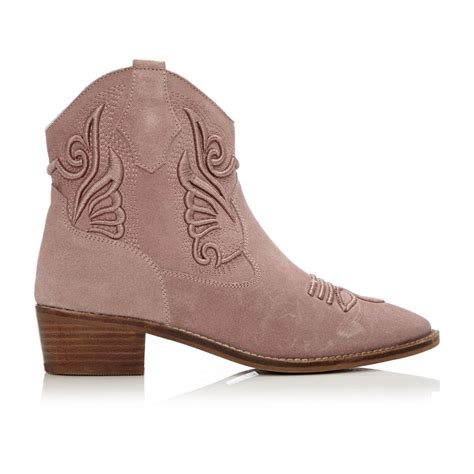 light pink suede boots colett light pink suede sale from moda in pelle uk