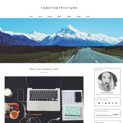 layout na blog blogger template take that picture blogger templates