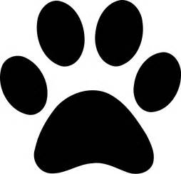 picture paw print cliparts
