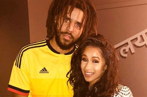 hair decoded j cole follows his moms hair advice watch j cole give cardi b advice