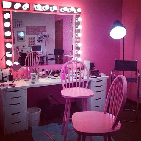 pink makeup makeup vanities and vanity area on