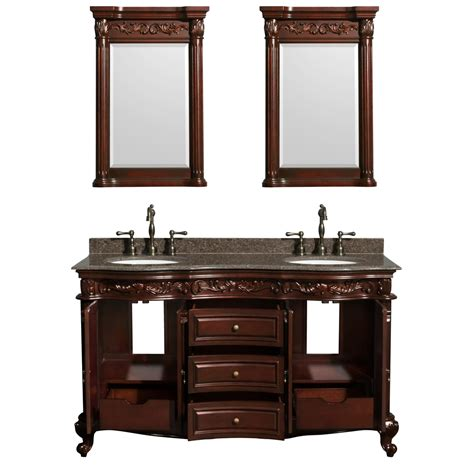 Bathroom Vanity 60 by Wyndham Collection Edinburgh 60 Traditional Sink