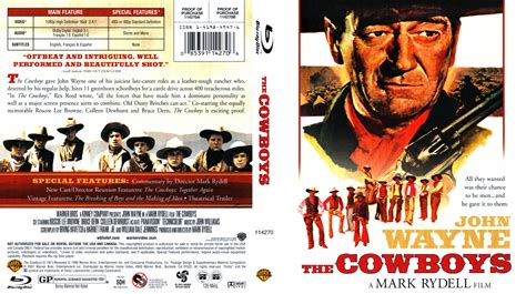 film the last cowboy the cowboys movie blu ray scanned covers the cowboys