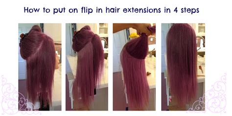 best way to put in hair extensions synthetic flip in hair extensions are they worth it