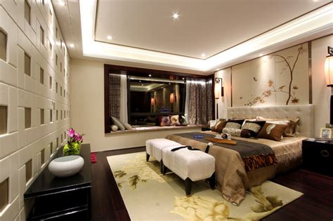 Asiatische Schlafzimmer Sets by Modern Style Asian Bedroom Other Metro By