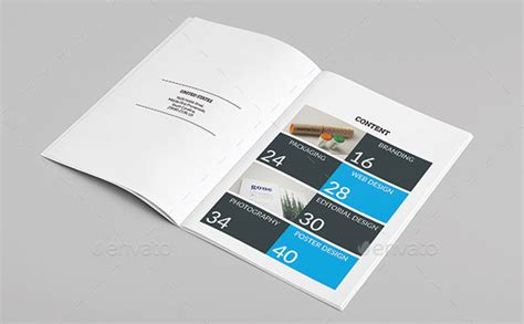Portfolio Brochure Template by 25 Really Awesome Portfolio Brochure Templates Web