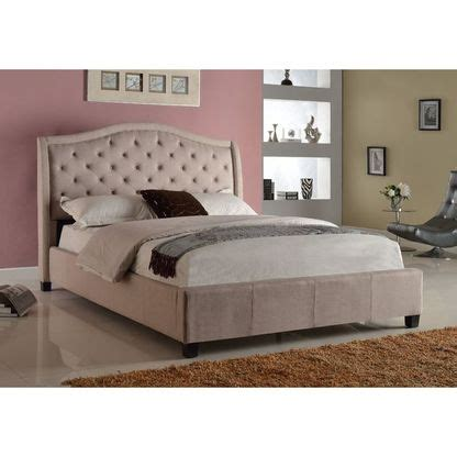 addison headboard 5262 q addison upholstered queen bed with tufted headboard