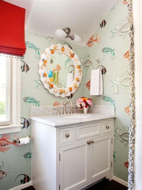 bathroom wallpaper india 51 fotos de papel de parede para banheiro na decora 231 227 o