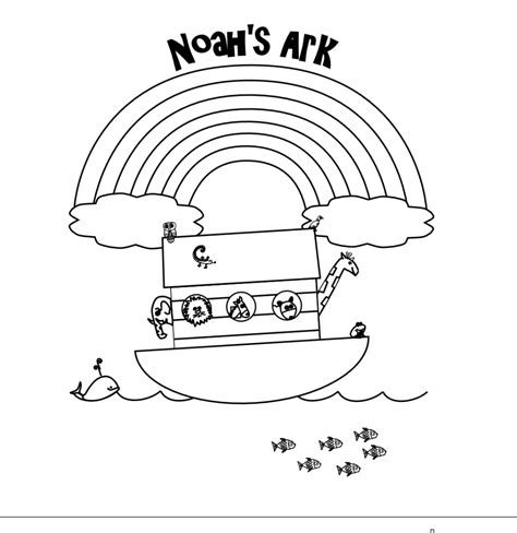coloring page noah s ark and rainbow rainbow coloring pages with bible verses only coloring pages